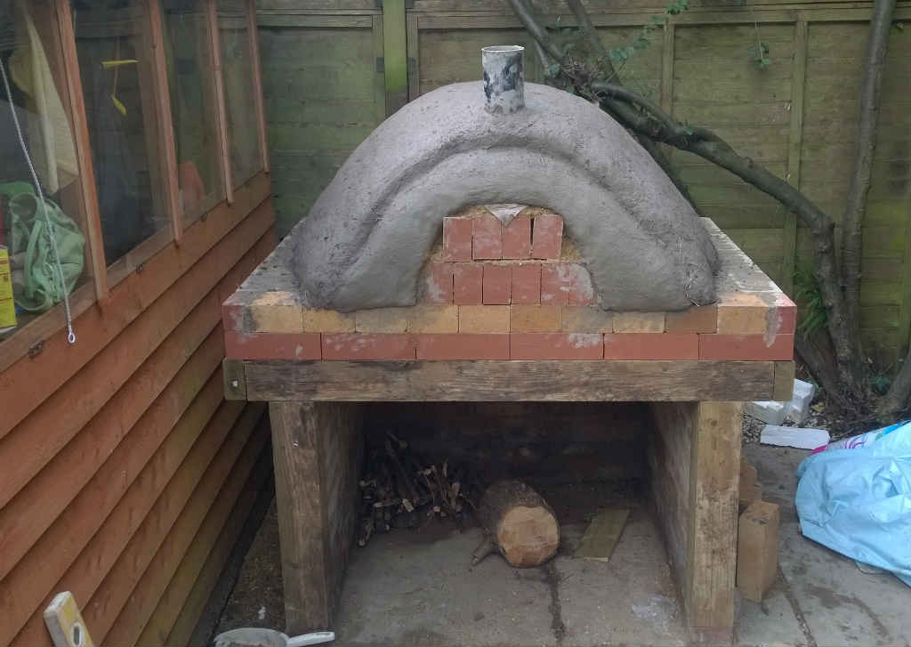 Ash S Homemade Clay Pizza Oven In The Garden Simplenick
