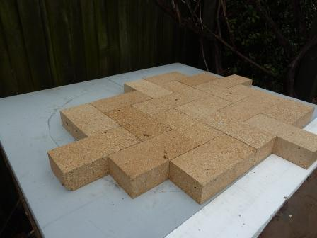 Build Your Own Brick Oven Base And Oven Floor Simplenick